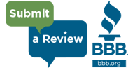 Submit a review on www.BBB.org